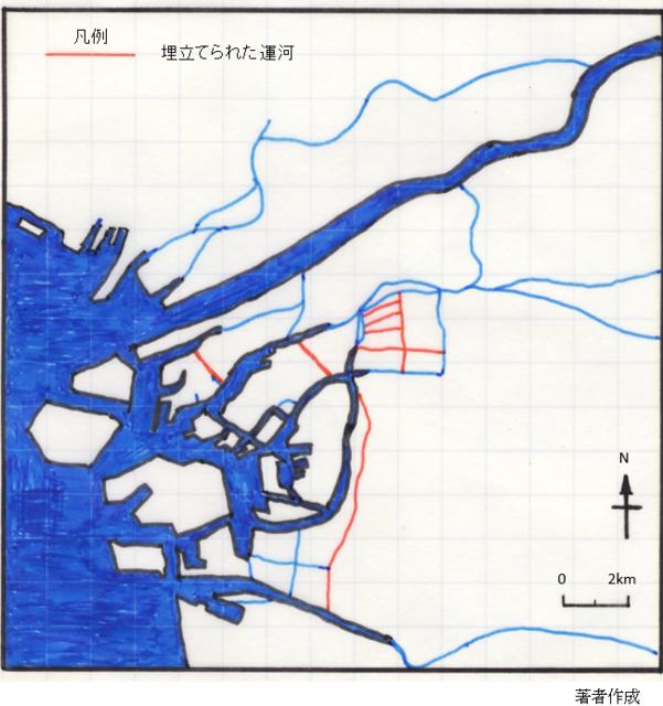 若井図2大阪のおもな河川と運河網.PNG